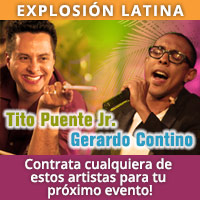 Marc Anthony Romeo Santos Gloria Estefan